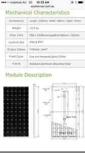 190W Solar Panels OffGrid/4wd/Marine Cairns Cairns City Preview