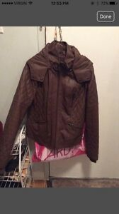 Brown leather jacket NEVER WORN