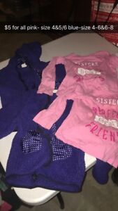Girl clothing &shoes lot
