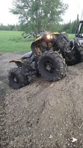 2008 can am renegade looking to trade for a truck