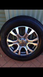 2017 New Ranger Wildtrak - Rims & Tyres