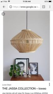 IKEA light pendants