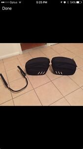 Harley v rod Saddle bags quick release like new 400$ Firle Norwood Area Preview