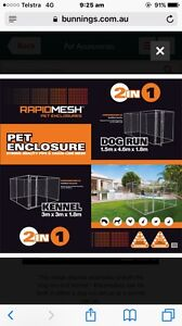 Pet enclosure Oxley Vale Tamworth City Preview