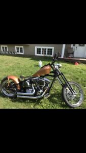 2013 softail chopper custom