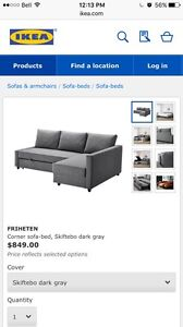 IKEA sectional sofabed