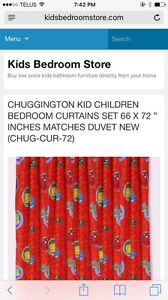 Chuggington curtains