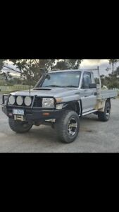 2010 Toyota Landcruiser Workmate (4x4) 5 Sp Manual C/chas
