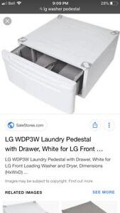 LG washer/ dryer pedestal