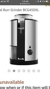 Breville Conical Burr Coffee Grinder