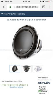 JL Audio 12W6v2-D4 Sub Innaloo Stirling Area Preview