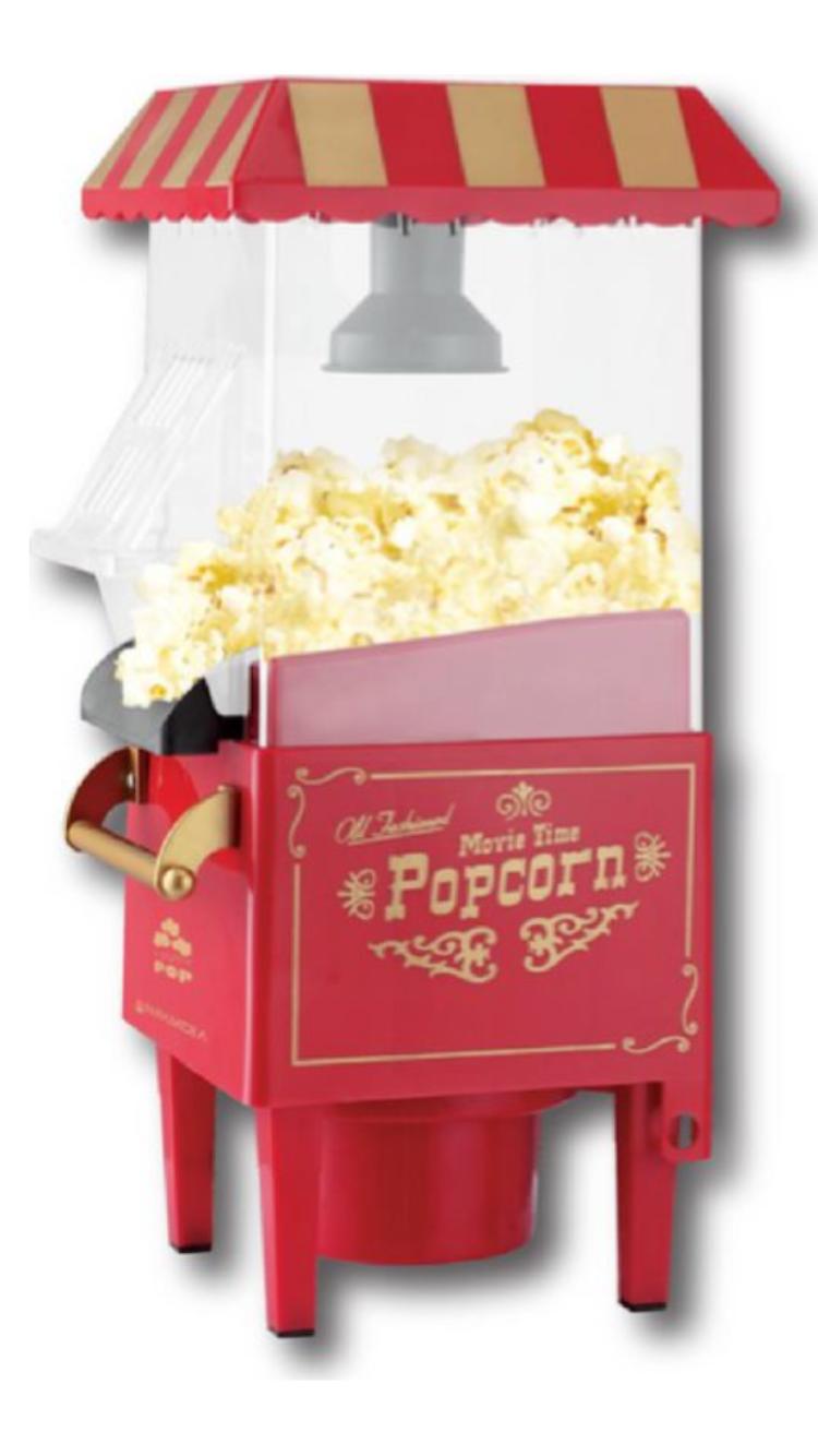 Macchina pop corn 1200W Pyramidea PCM1200