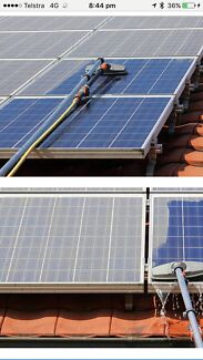 T&k solar panel cleaning