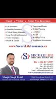 Visitor, Travel and SuperVisa Insurance