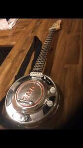 Hub cap guitar
