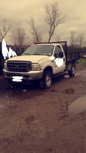 2003 f350 6.0 powerstroke for parts or repair.