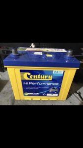 Century 58 Car Battery CCA 540 Cabramatta West Fairfield Area Preview