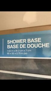 Shower base