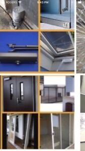 Commercial doors and windows services