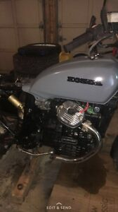 Cafe racer project (gl500)