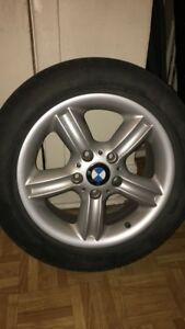 BMW 328i rims and tires