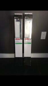 Brand new 24 inch chrome towel bars