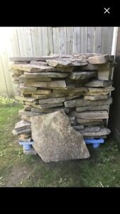 "Beautiful Granite Stones.   Skid 3' Tall x 3'3"" Square"