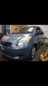 2007 Toyota Yaris, low kms, auto, clean!