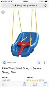 ISO baby swing (outdoor)