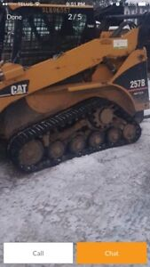 Looking for a CAT 247B or 257B skid steer for parts