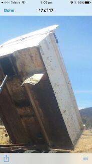 3.9M steel tipper bin