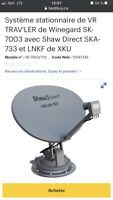 Antenne satellite pour VR Shaw Direct