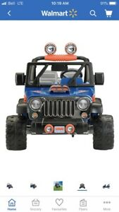 Fisher Price Hot Wheels Jeep