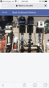 WANTED: Dead or Alive small engines, boat motors