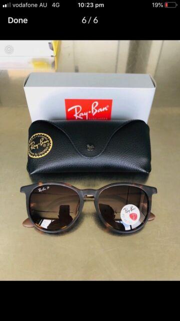 aac010905dde Ray-Ban Erika Classic RB4171 Tortoise - Nylon - Brown Lenses ...
