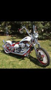 Custom motorcycle Trade