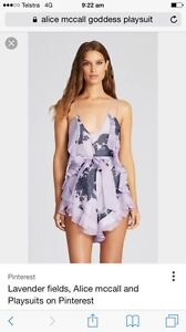 Alice McCall Goddess Playsuit Romper Merewether Newcastle Area Preview
