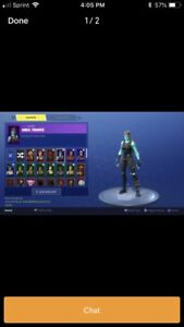Looking for a account with skull trooper and other rare skins.