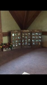Wedding picture boards