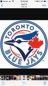 BLUEJAYS AFTERNOON GAME WEDNESDAY LOTS OF SEATS