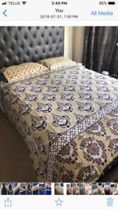 My all bedsheets is on Sale. Some are with the fitted sheet.