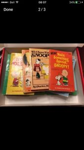 Lot of Charlie Brown Books