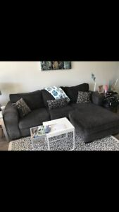 Sofa with chaise  $200 obo