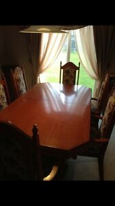 REDUCED!!!! Solid Oak Dining set w/Hutch  London Ontario image 6