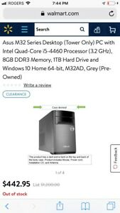 Pc tower trade for laptop