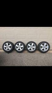 MK5 OEM jetta rims and tires!