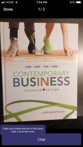 contemporary business canadian edition boone