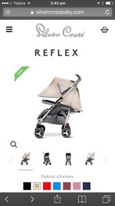 Silver Cross Reflex Stroller - Sand coloured Armidale Armidale City Preview