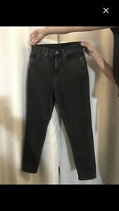 NEW american eagle black mom jeans