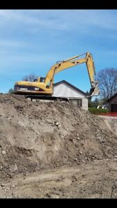 Excavator available for hire